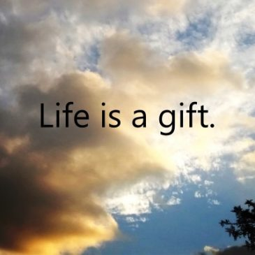 Life Is A Precious Gift To Be Treasured