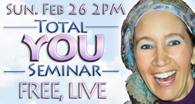 The Total YOU seminar – February 26th, 2017