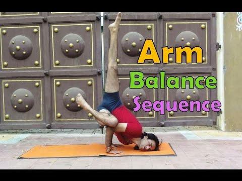 19 Arm Balance Pose Sequence | Ashtnaga Power Yog