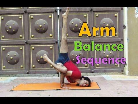 19 Arm Balance Pose Sequence | Ashtnaga Power Yog